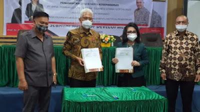 Bank SulutGo dan Unima Teken MoU Pengelolaan Penerimaan SPP