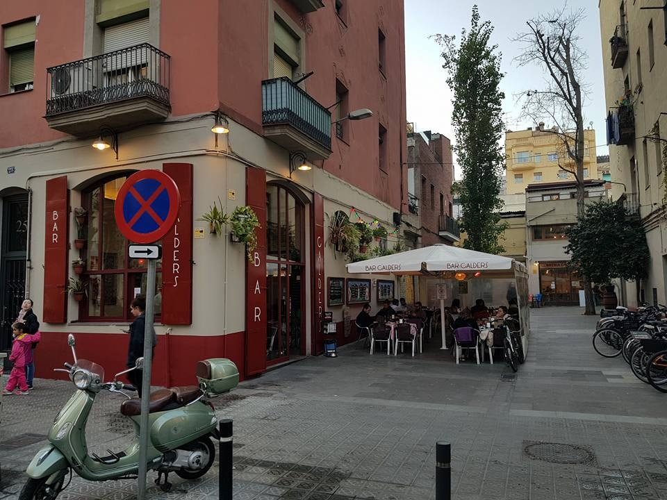 Бар Колдерс в Барселоне