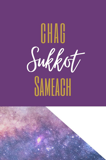Happy Sukkot Festival Greeting Card | Feast Of Tabernacles | Chag Sukkot Sameach | 10 Free Cute Greeting Cards
