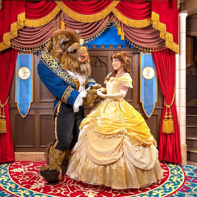 心動在奇妙瞬間2021年白色情人節預告幸會貝兒Belle與野獸The Beast, Hong Kong Disneyland, Beauty and The Beast, 美女與野獸
