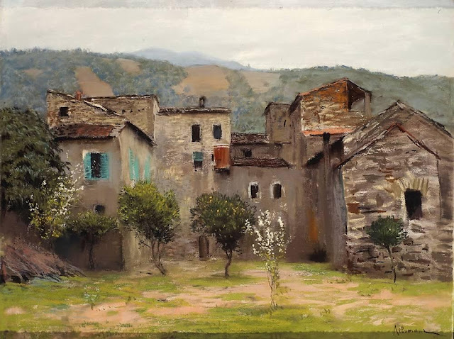 Исаак Ильич Левитан - Близ Бордигеры. На севере Италии (2). 1890