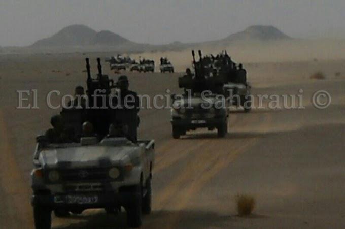 ⭕️ عاجل | فرق خاصة من الدرك الحربي للإحتلال تُعد لهجوم غادر ضد المتظاهرين الصحراويين بالگرگرات