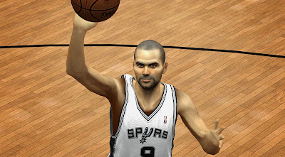 NBA 2K14 Tony Parker HD Face Texture Patch