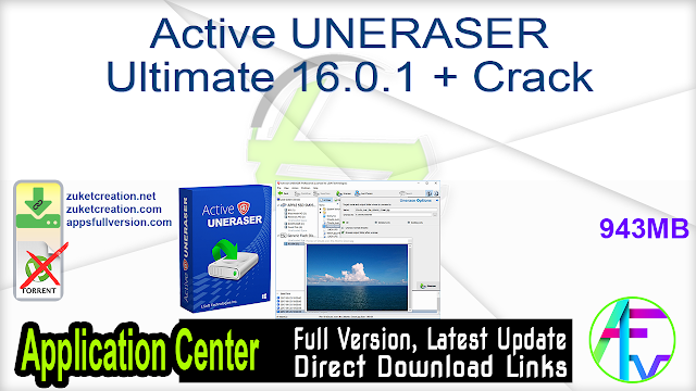Active UNERASER Ultimate 16.0.1 + Crack