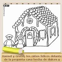 http://www.colorearjunior.com/dibujos-para-colorear-de-hansel-y-gretel-la-casita-de-chocolate.html
