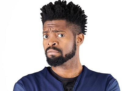 See the Pro-Buhari Photo That Landed Popular Comedian, Basketmouth in Trouble With Fans