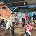 Antisipasi Covid-19, Polisi Bagikan Masker Gratis Di Jayapura Utara