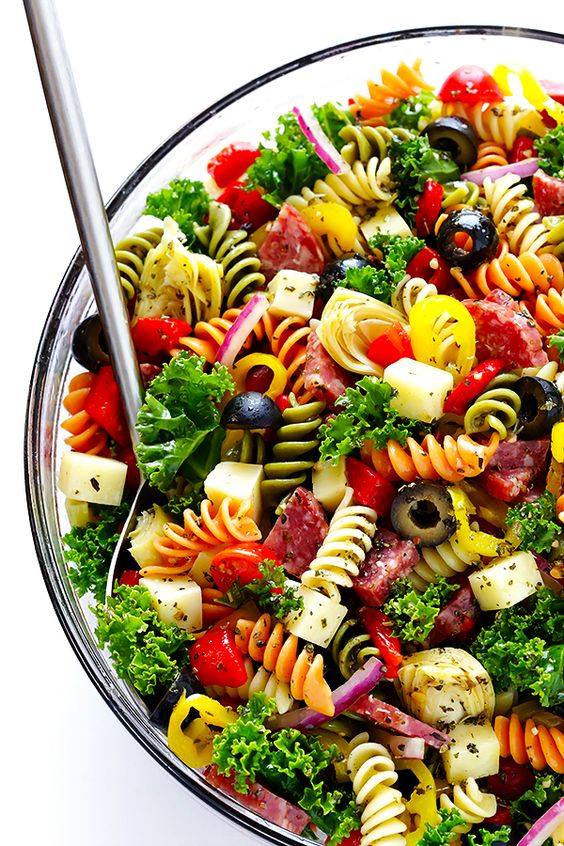 RAINBOW ANTIPASTO PASTA SALAD #recipes #pastarecipes #easypastarecipes #food #foodporn #healthy #yummy #instafood #foodie #delicious #dinner #breakfast #dessert #lunch #vegan #cake #eatclean #homemade #diet #healthyfood #cleaneating #foodstagram