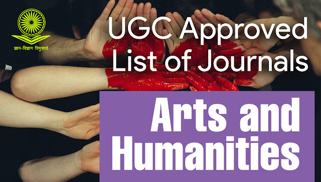 UGC Approved Journals for Arts and Humanities