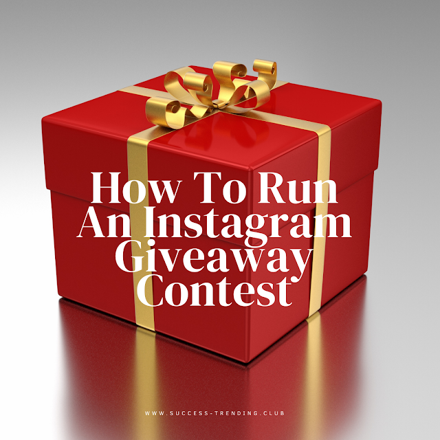 How To Run An Instagram Giveaway Contest