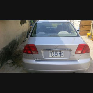 Extremely Clean Honda Civic 2006Model for Sale in Lagos