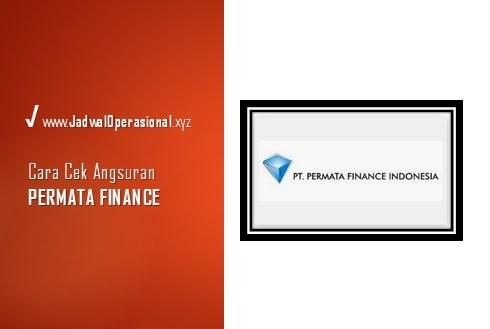 Cek Angsuran Permata Finance