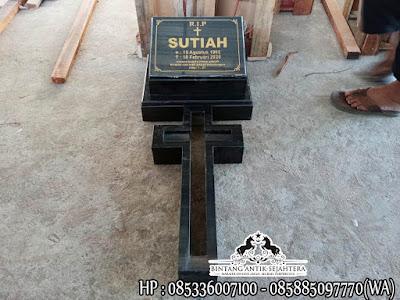 Makam Kristen Model Minimalis   Nisan Kuburan Kristen Terbaru