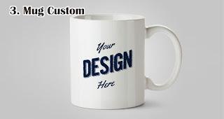 Mug Custom merupakan salah satu rekomendasi pilihan hadiah untuk wanita spesial di Hari Kartini
