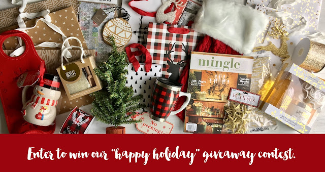"enter to win our ""happy holiday"" giveaway 