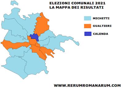 Roma 2021 Municipi
