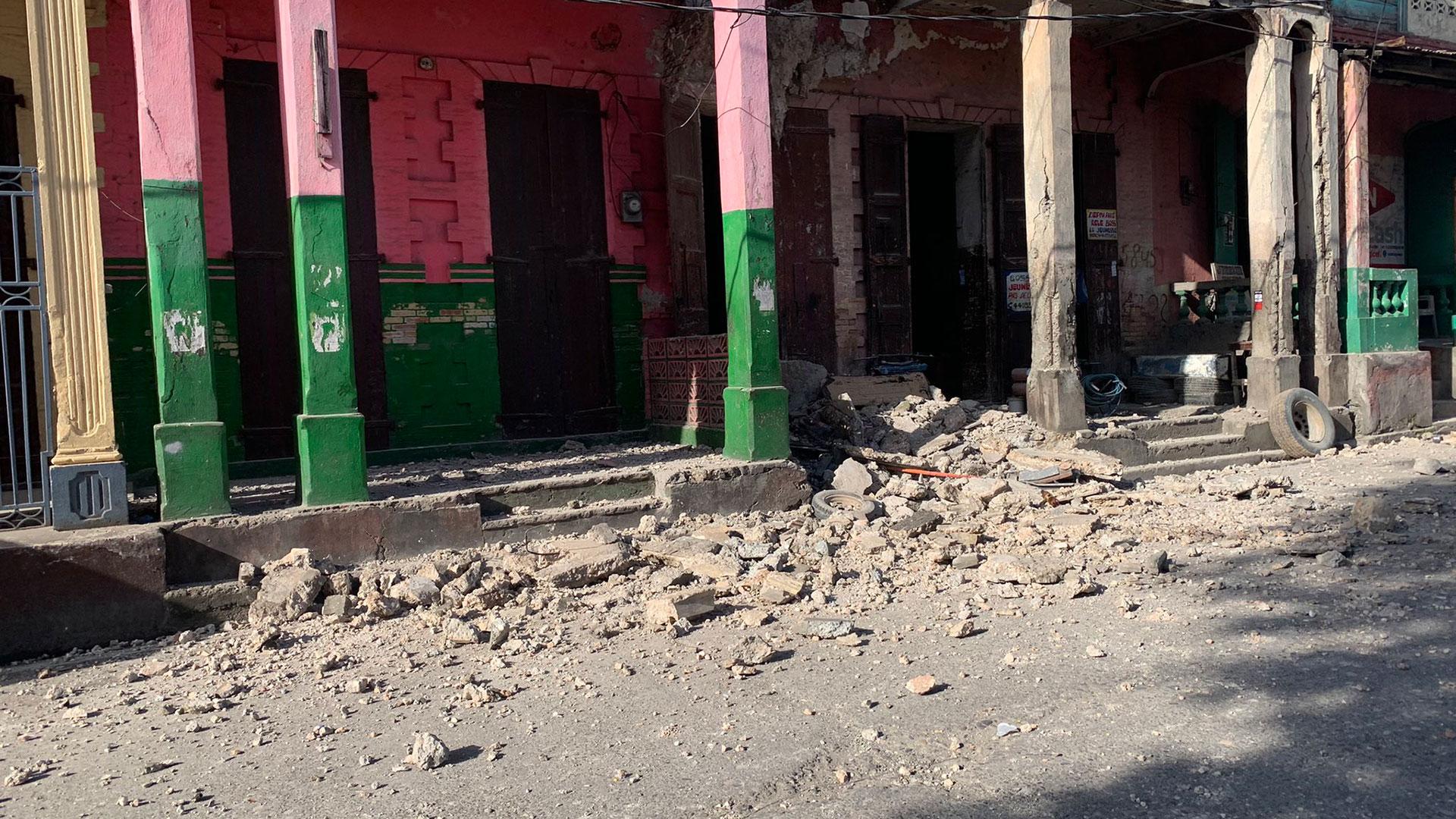 Un terremoto de 7,2 sacudió Haití: las autoridades confirmaron varios muertos