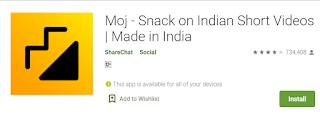 Moj App क्या है | Moj App kya hai