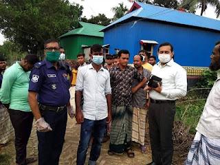 সিরাজগঞ্জে জেলা প্রশাসনের উদ্যোগে বাল্যবিবাহ বন্ধ