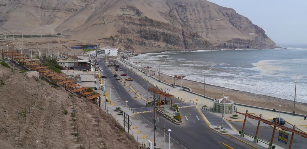 Playa Herradura de lima