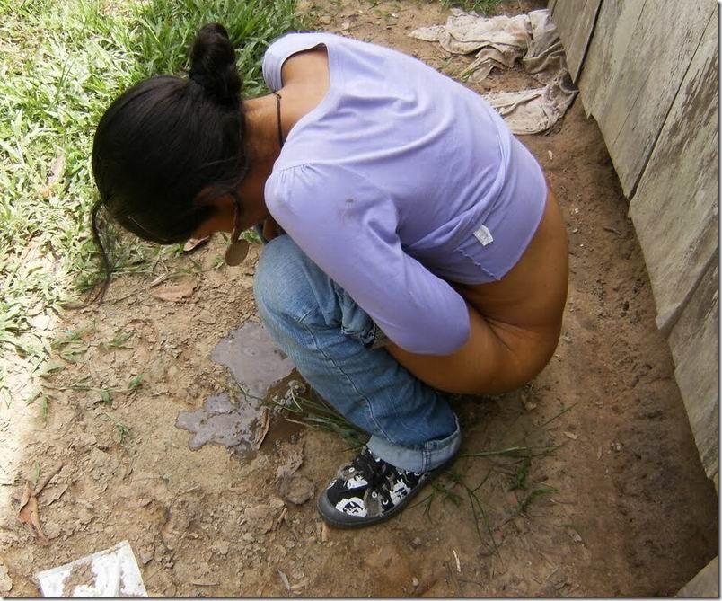 from Hank girls pooping tamil village