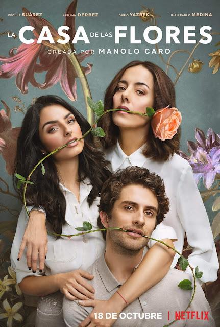 Póster segúnda temporada de 'La Casa de las Flores'