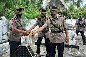 Jelang HUT Bhayangkara Ke-75, Polres Kepulauan Selayar Gelar Ziarah Di Taman Makam Pahlawan Barugaiya