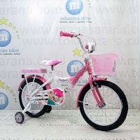 Sepeda Anak Wimcycle Frozen 16 Inci Lisensi