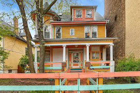 Colorful 'Candy Land House' for sale in Chicago