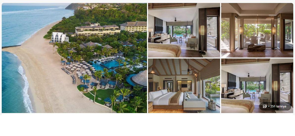 The Ritz Carlton Nusa Dua - hotel di bali dekat pantai