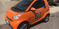 Auction Watch: 2009 Smart Fortwo General Lee