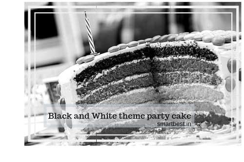 Black and White Theme Party Sorting Ideas