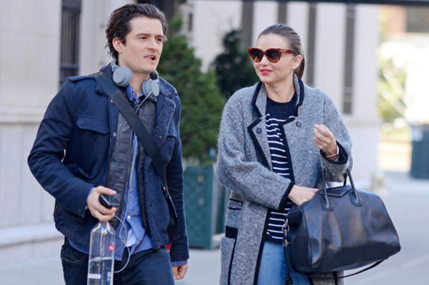 Orlando Bloom moves into the House next door with Miranda Kerr
