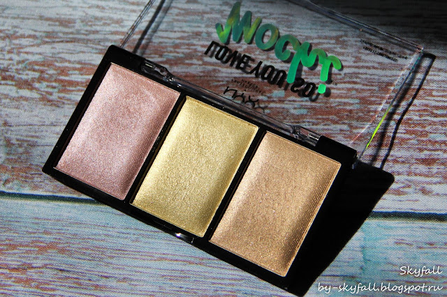 NYX Love You So Mochi Highlighting Palette LIT LIFE, отзывы