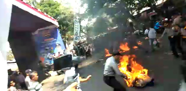 Polda Jabar Tetapkan Lima Orang Mahasiswa Sebagai Tersangka Pembakar Anggota Polisi Di Cianjur