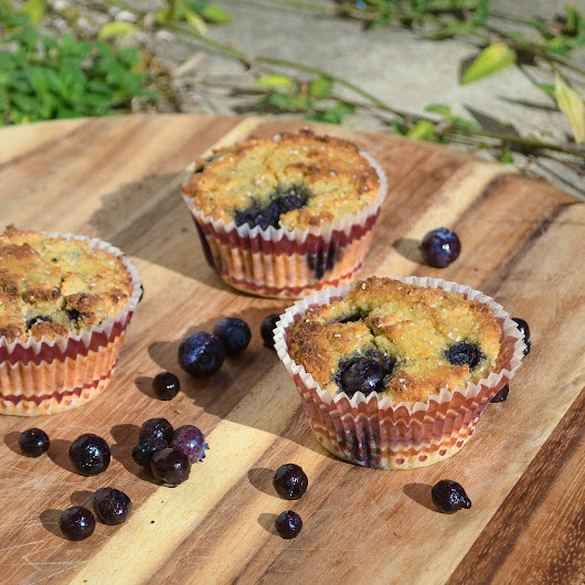 The Best Low Carb Blueberry Muffins