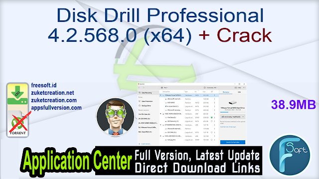 Disk Drill Professional 4.2.568.0 (x64) + Crack