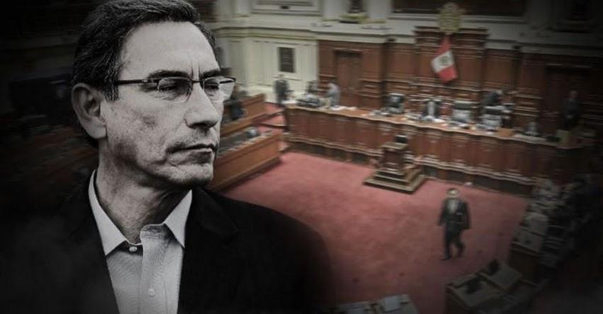 GOLPE DE ESTADO EN PERÚ: Congreso con 68 investigados por la justicia acaba de vacar a Martín Vizcarra Cornejo