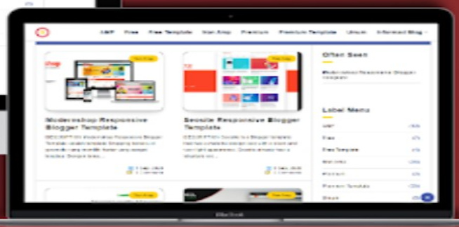 Reco White Blogger Template Free Download