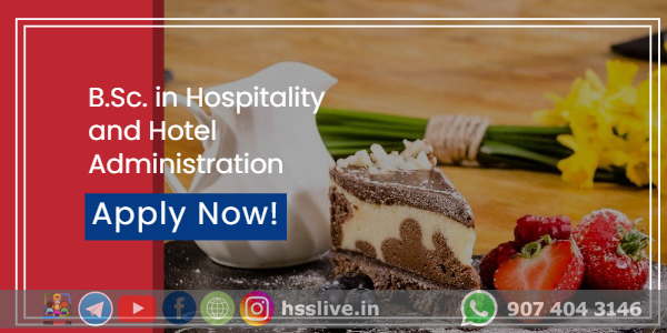 B.Sc. in Hospitality and Hotel Administration