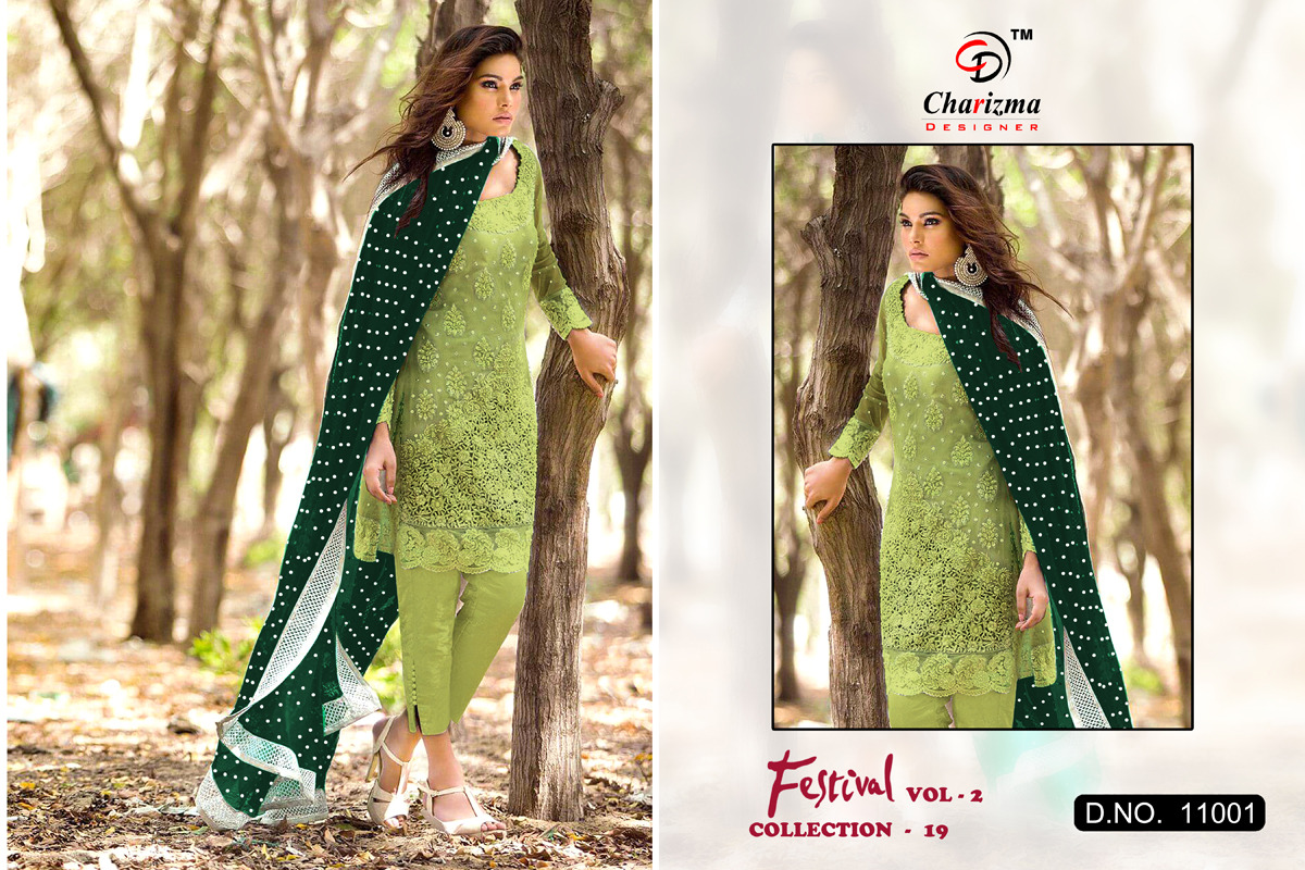 134045c0c3 Charizma Festival vol 2 Pakistani Suits wholesale Price Eid and ramzan  Collection 19