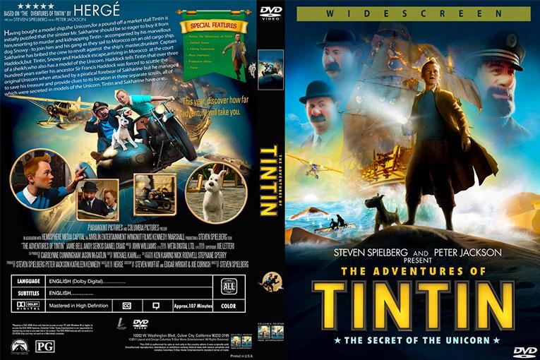 The Adventures of Tintin (2011) 720p BrRip [Dual Audio] [Hindi 5.1+English]