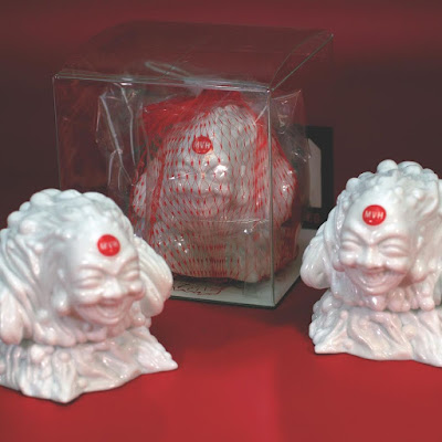 Sludge Demon MVH White Edition Vinyl Figure by Mutant Vinyl Hardcore