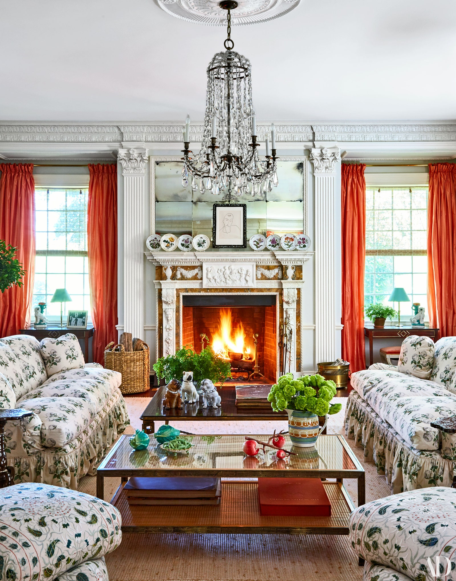 Décor Inspiration | At Home With: Tory Burch, Southampton
