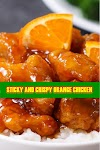 #STICKY #AND #CRISPY #ORANGE #CHICKEN