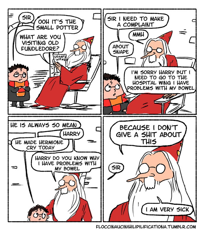 Dumbledore doesn't care about Harry's problems