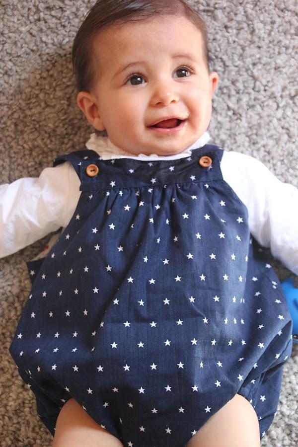 DIY patrones y costura de ropa para bebes. Como hacer peto o pelele