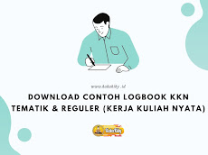 Download Format Logbook KKN Tematik & Reguler Terlengkap
