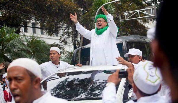 Ternyata Bukan Indonesia Yang Cekal Habib Rizieq