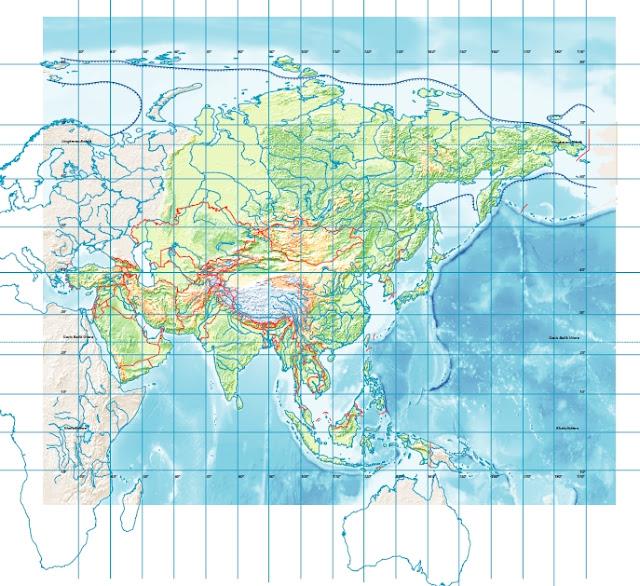 Peta Buta Asia